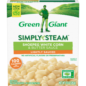 Green Giant® Simply Steam™ Shoepeg White Corn & Butter Sauce product