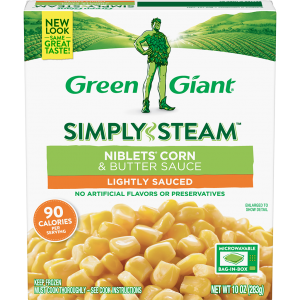 Green Giant® Simply Steam™ Niblets Corn & Butter Sauce product