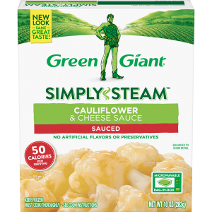 Green Giant® Simply Steam™ Frozen Cauliflower & Cheese Sauce product