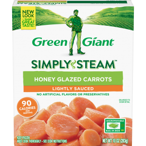 Green Giant® Simply Steam™ Honey Glazed Carrots product