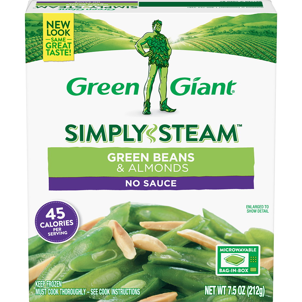 Green Giant® Simply Steam™ Green Beans & Almonds product