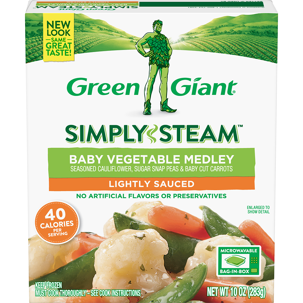 Green Giant® Simply Steam™ Baby Vegetable Medley product