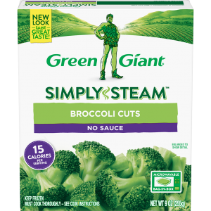Green Giant® Simply Steam™ Broccoli Cuts product