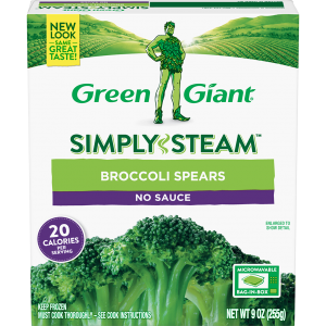 Green Giant® Simply Steam™ Broccoli Spears product