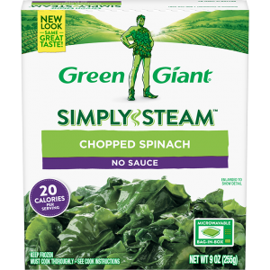 Green Giant® Simply Steam™ Chopped Spinach product