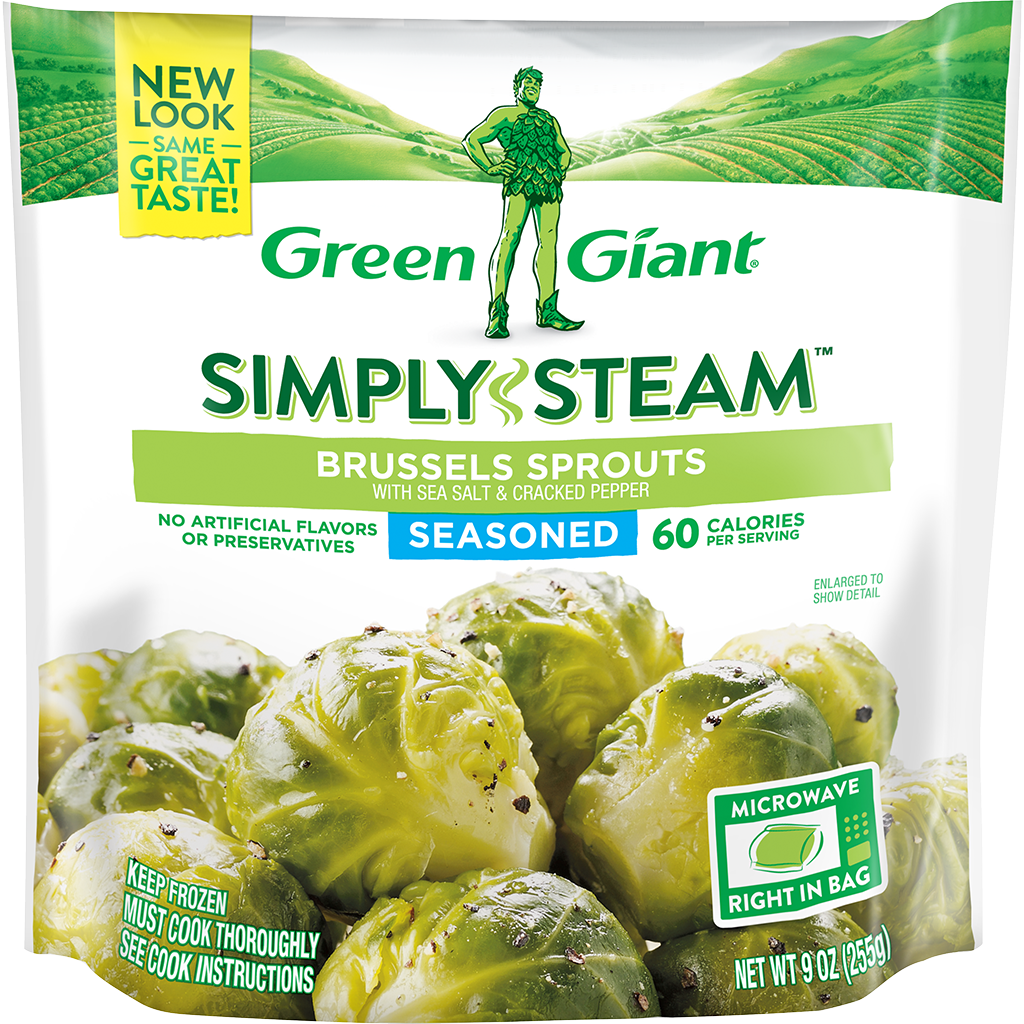 Green Giant® Simply Steam™ Brussels Sprouts Salt & Pepper