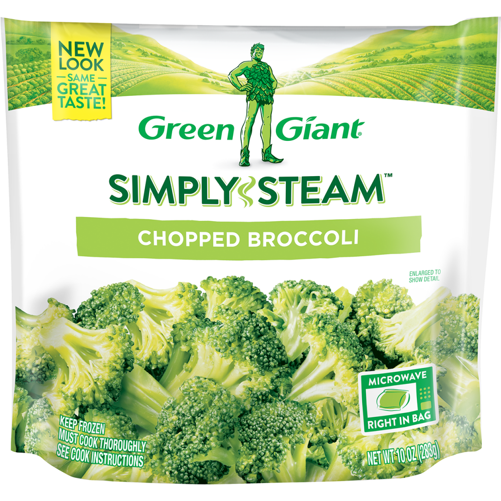 Green Giant® Simply Steam™ Chopped Broccoli product image