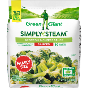 Green Giant® Simply Steam™ Family Size Broccoli & Cheese Sauce