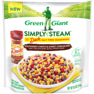 Green Giant Simply Steam Southwest Chipotle Sweet Corn Blend